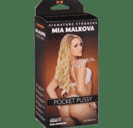 All Star Porn Star Mia Malkova Pussy - White