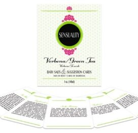 I Adore Love Sensuality Bath Set Verbena and Green TeaSalts Toys BDSM Lingerie Accessories Sexy Apparel Gift Card