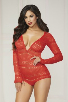I Adore Love Sexy Lingerie Holiday Loungewear