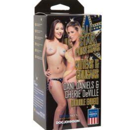 All Star Porn Stars - - Kittens & Cougars: Dani Daniels & Cherie Deville