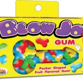 I Adore Love Sex Toys Edible Blow Job Pecker Bubble Gum