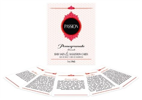I Adore Love Passion Bath Set Pomegranate Salts Toys BDSM Lingerie Accessories Sexy Apparel Gift Card