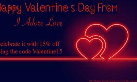 Valentine Day Promo Discount Code Ideas I Adore Love
