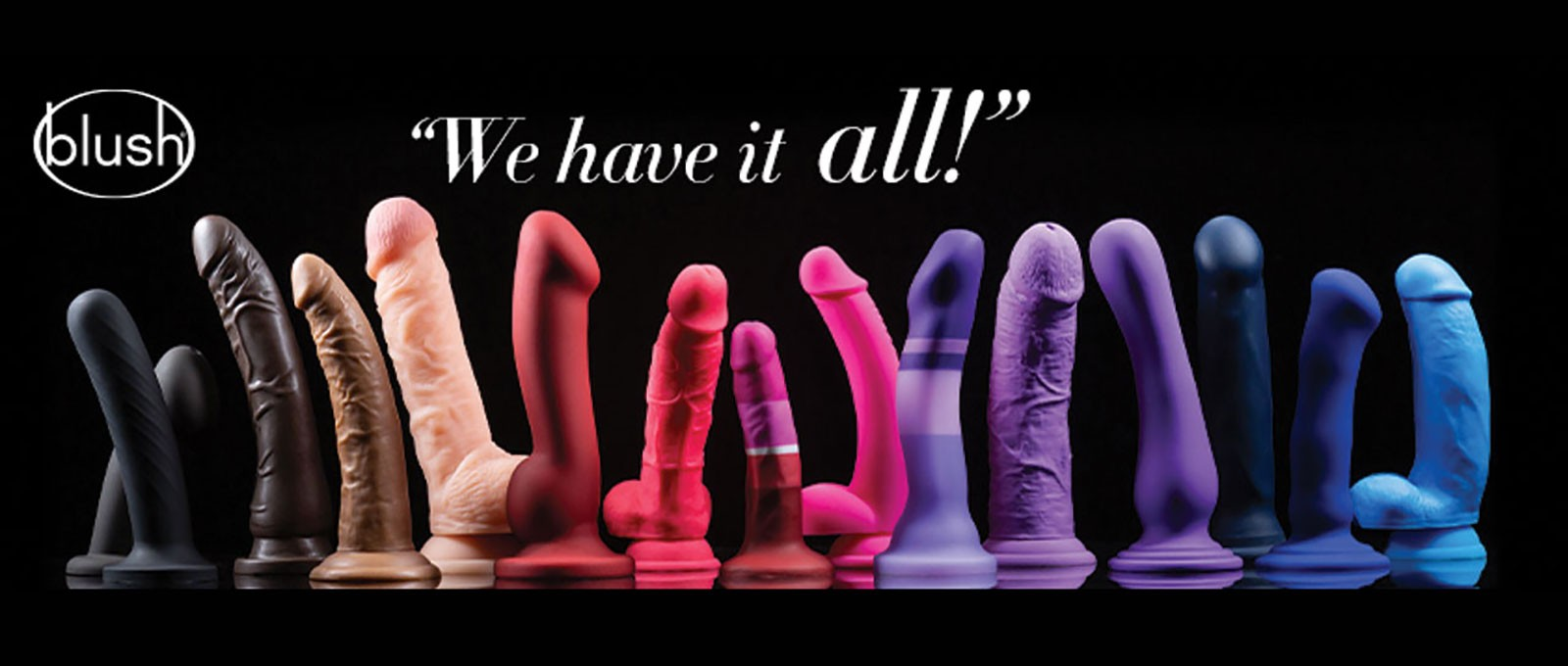 Blush Novelties I Adore Love Sex Toys Dildo BDSM LGBT Gay Bondage Massage Oils Lubes